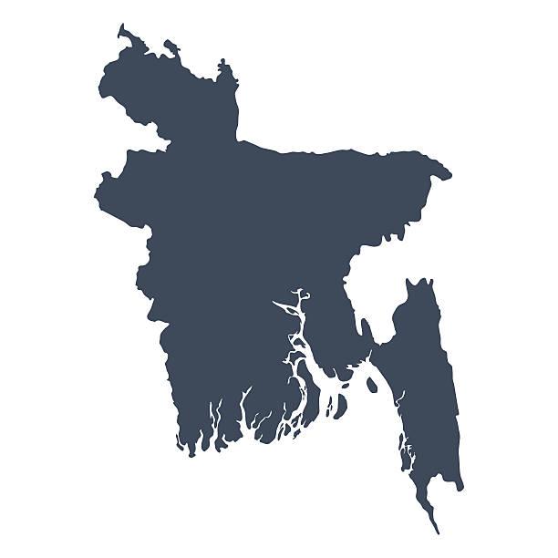 Bangladesch Land Karte – Vektorgrafik