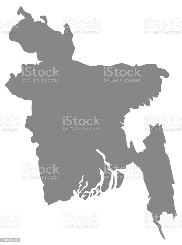Bangladesh map stock vector art more images of asia 864485480 istock bangladesh map royalty free bangladesh map stock vector art amp gumiabroncs Choice Image