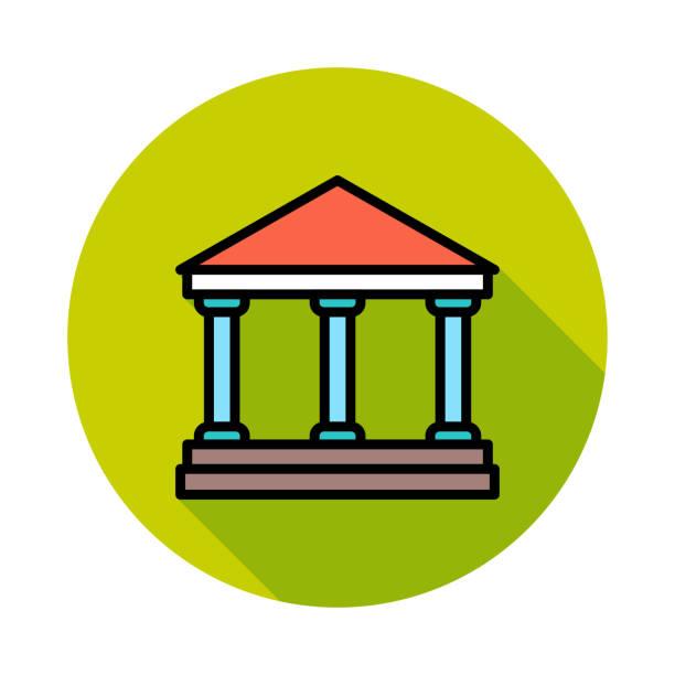 banka bina mahkemesi - supreme court stock illustrations