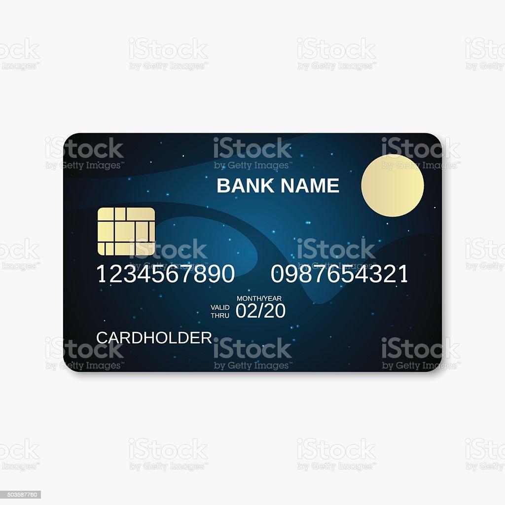 Bankkarte Vektor Vorlage Stock Vektor Art und mehr Bilder von ...