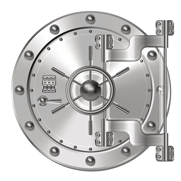 bank türen - safe stock-grafiken, -clipart, -cartoons und -symbole