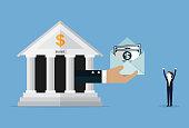 istock Bank loan 1128477281
