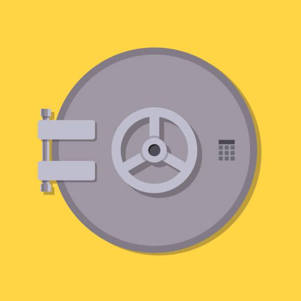 bankgewölbe sicher - safe stock-grafiken, -clipart, -cartoons und -symbole