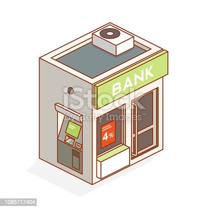 bank - isometric