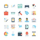 Banking and Finance Vector Icons 2