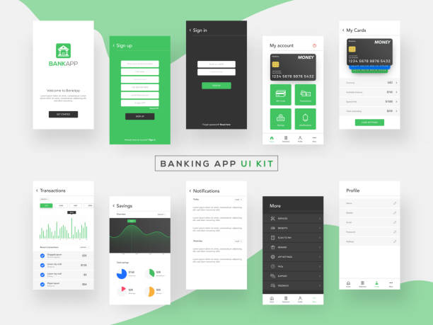 Best Mobile Banking India Illustrations, Royalty-Free Vector