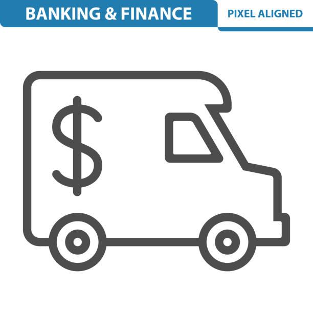 Banking / Finance Icon vector art illustration