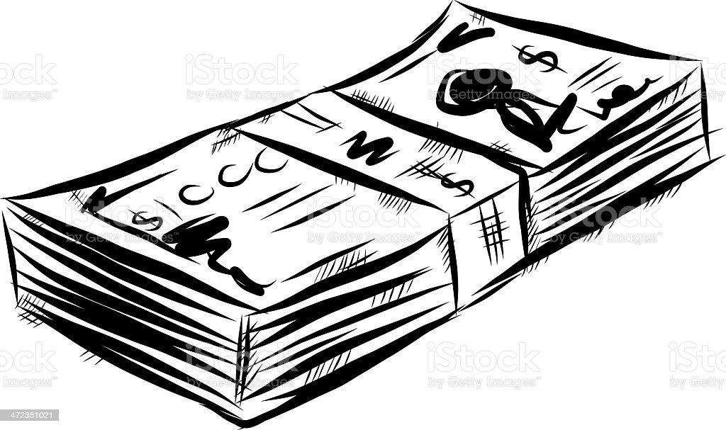Banknote Comic Stock Vektor Art Und Mehr Bilder Von Bank 472351021