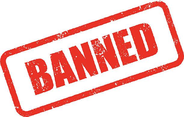 verboten stempel tinte zeichen symbol hintergrund (durchsichtig) - ausstoßen stock-grafiken, -clipart, -cartoons und -symbole