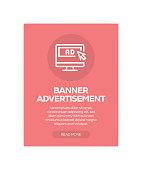 Banner Advertisement Concept