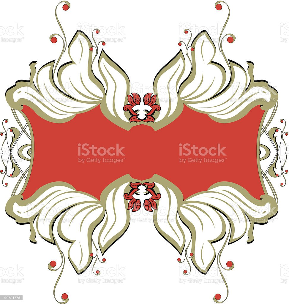 banner decorative design - vector royalty-free banner decorative design vector stock vector art & more images of abstract