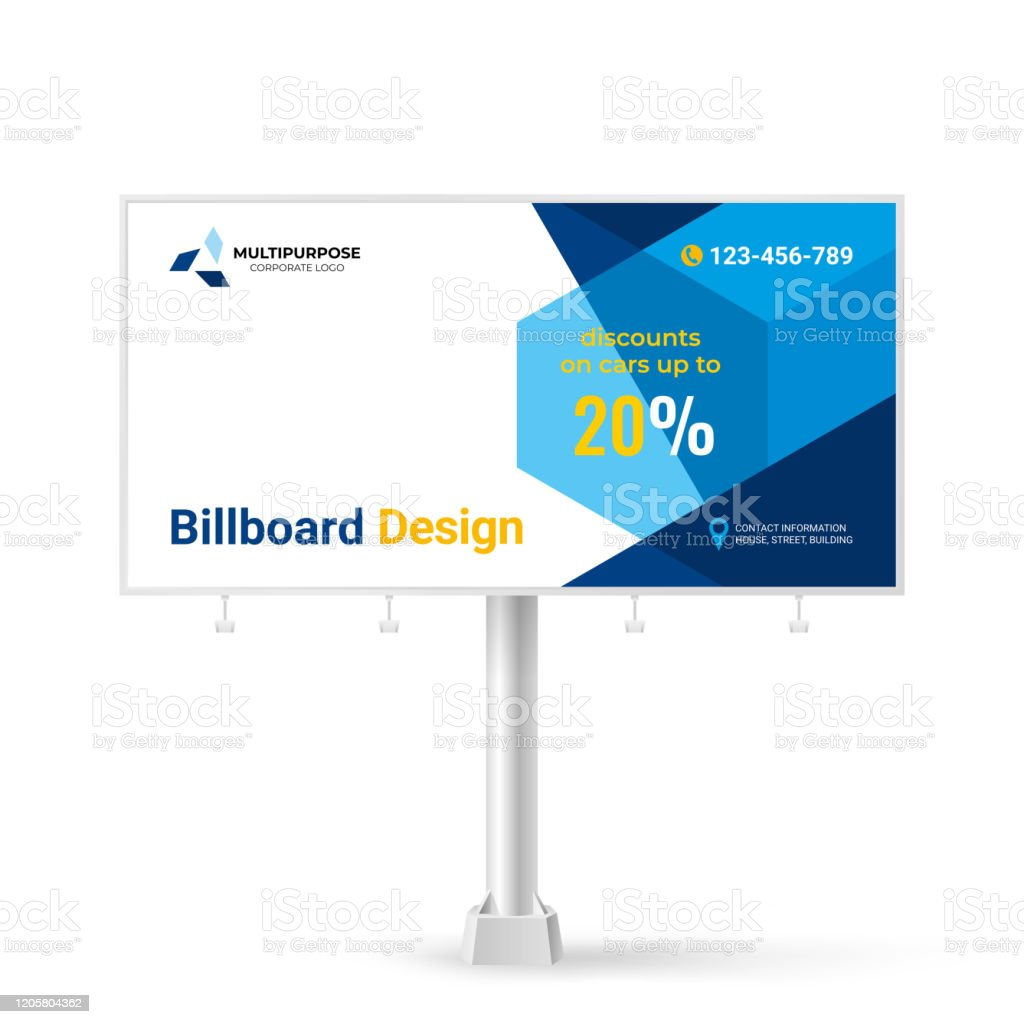 Banner Design Creative Billboard For Outdoor Advertising Car Show Vector Background Stock Illustration Download Image Now Istock