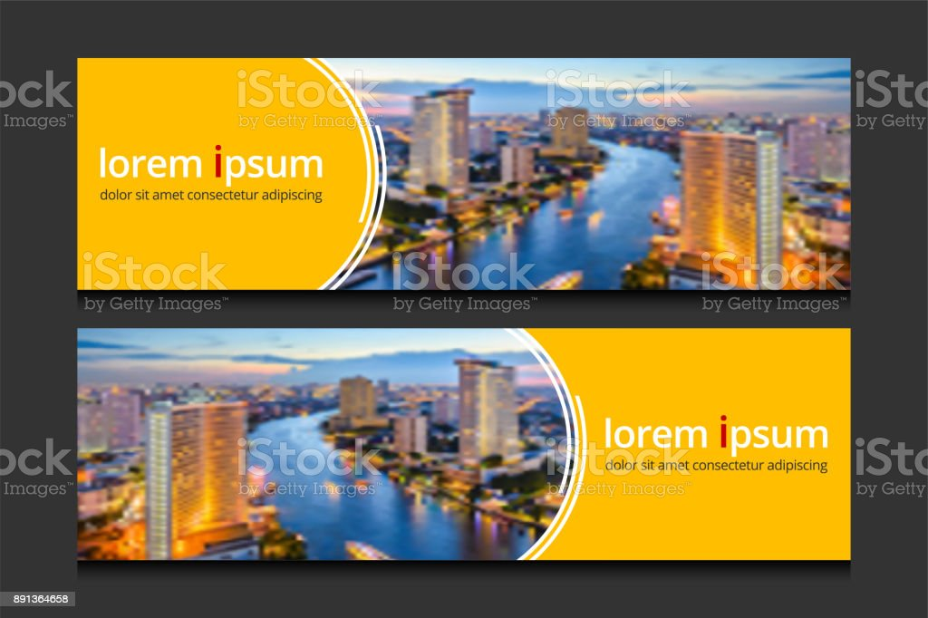 Banner design template background vector. Corporate business banners advertising set. Banner design template background vector. Corporate business banners advertising set. Abstract stock vector