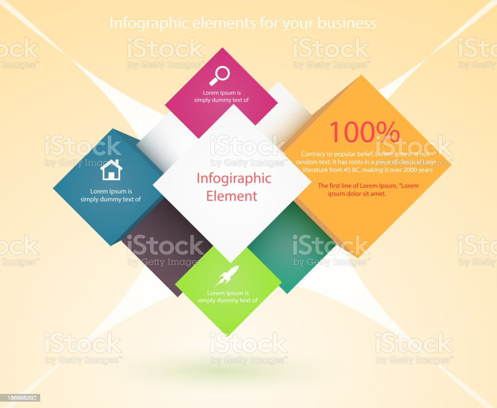Banner design template royalty-free stock vector art