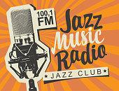 istock banner for jazz music radio with studio microphone 1189357169