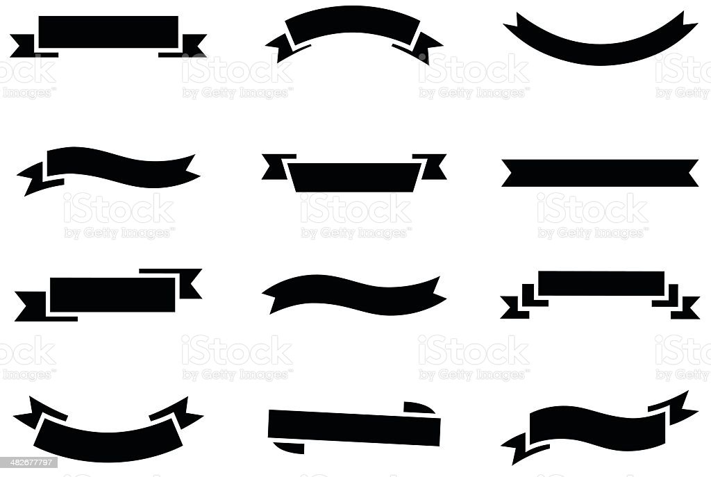 Banner Icons royalty-free banner icons stock vector art & more images of banner - sign