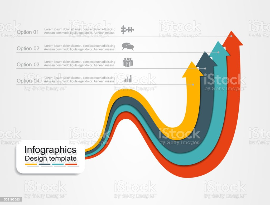 Banner infographic design template. Vector illustration royalty-free stock vector art