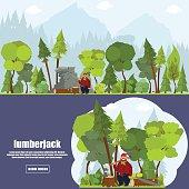 banner lumberjack