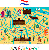 Banner of Amsterdam city