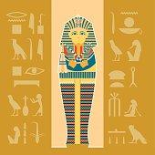 Banner of sarcophagus