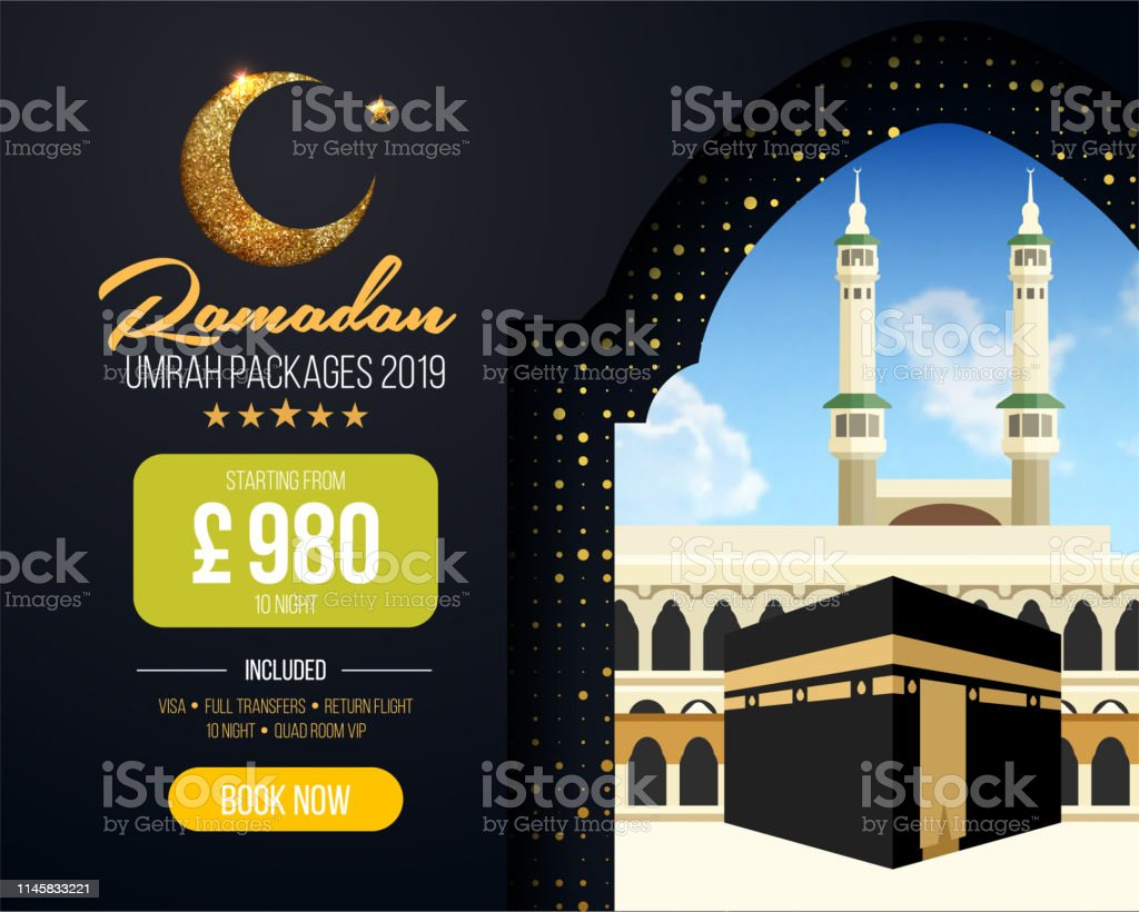 Umrah Banner: Banner Or Flyer Design For Umrah Packages Ads Book Cheap
