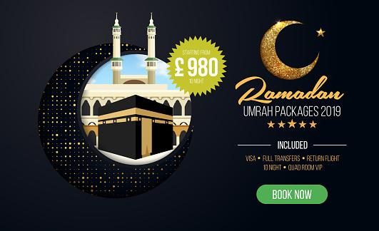 Umrah Banner: Banner Or Flyer Design For Umrah Packages Ads Book Cheap