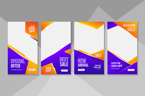 Banner sales and social media post collection