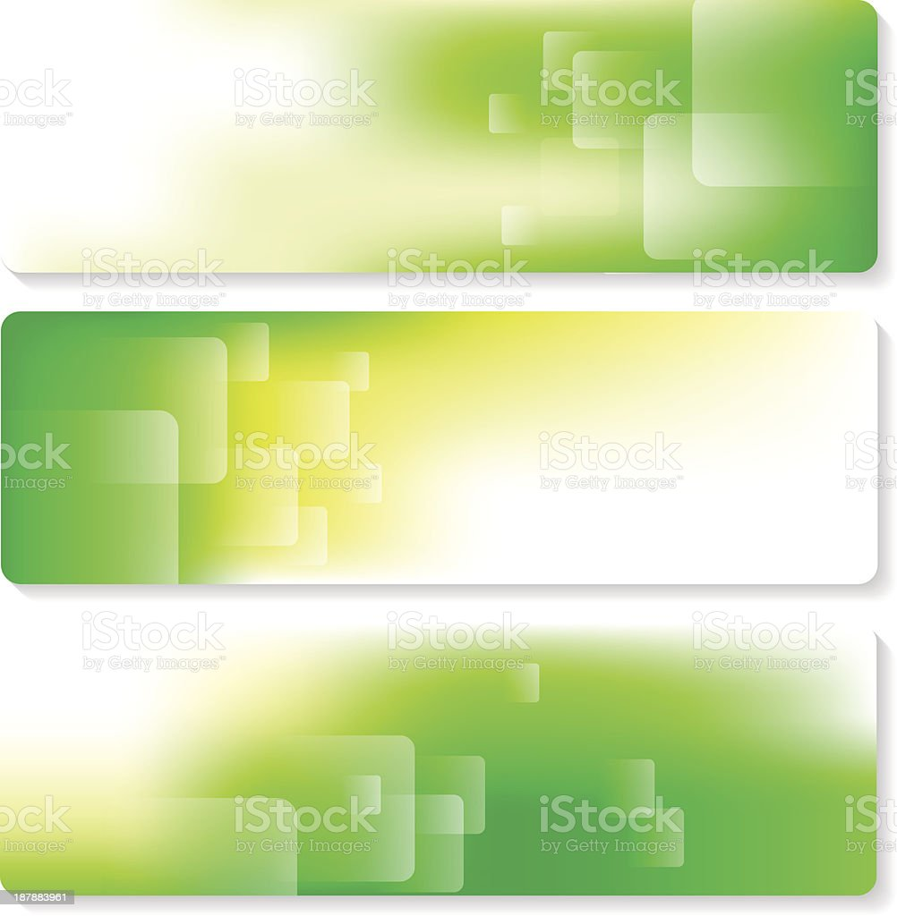 Banner Set royalty-free banner set stock vector art & more images of abstract