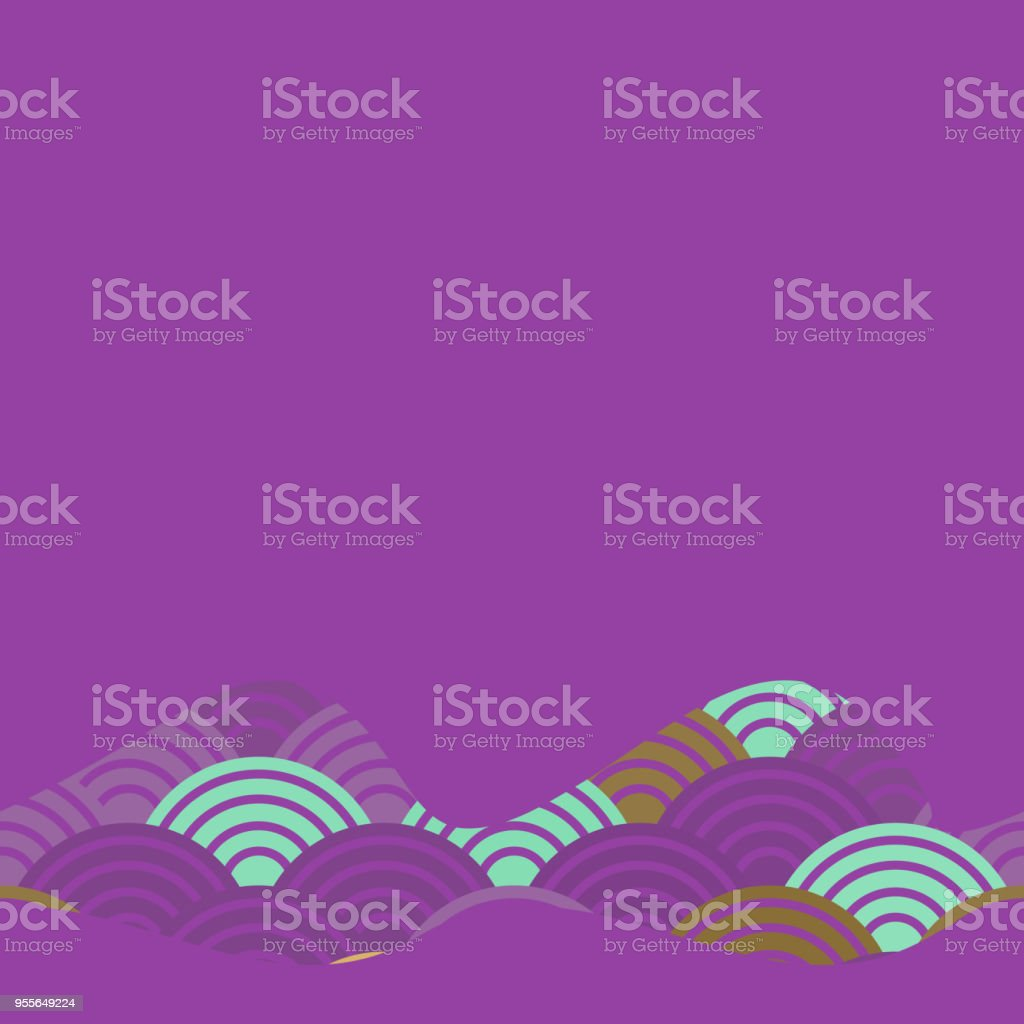 Banner Template For Your Text Pattern Dragon Fish Scales Simple ...