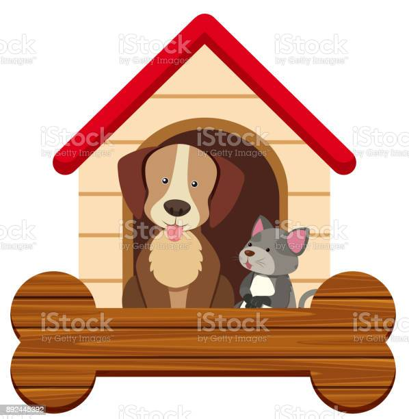 Banner template with cute dog and cat at pethouse vector id892445392?b=1&k=6&m=892445392&s=612x612&h=xwkwhkhv5  kpklyub8lryn7isgifpaqyzxert1zjsk=