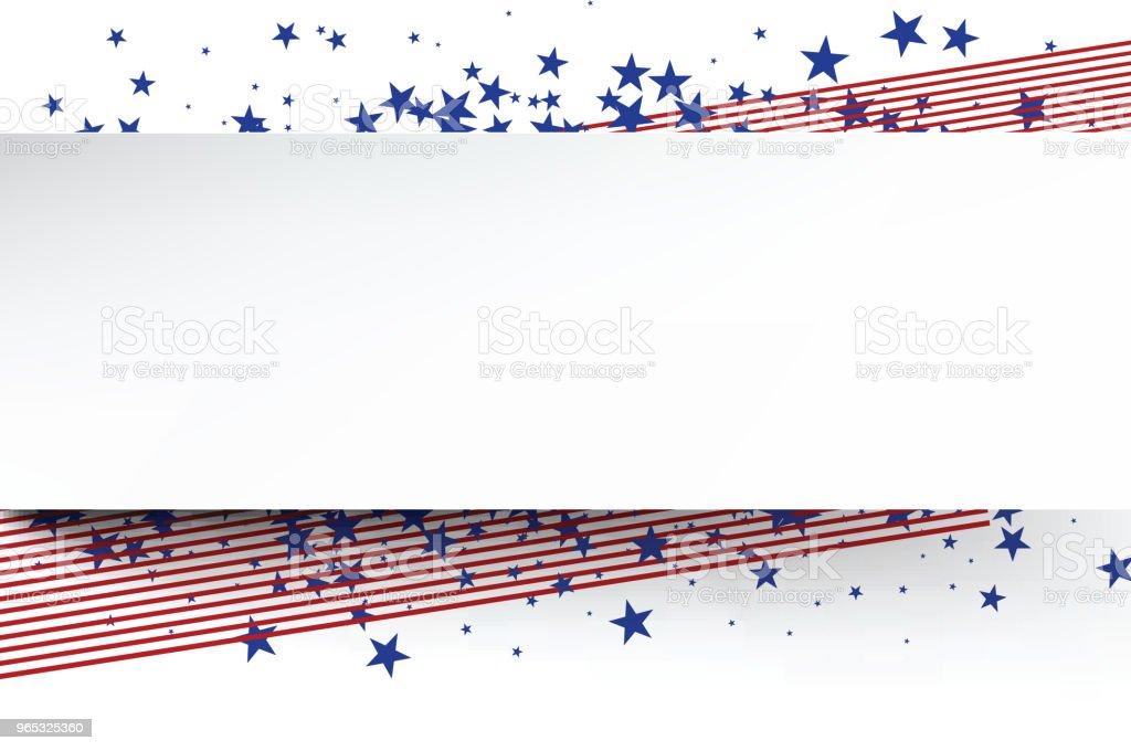 USA banner. usa banner - stockowe grafiki wektorowe i więcej obrazów baner royalty-free