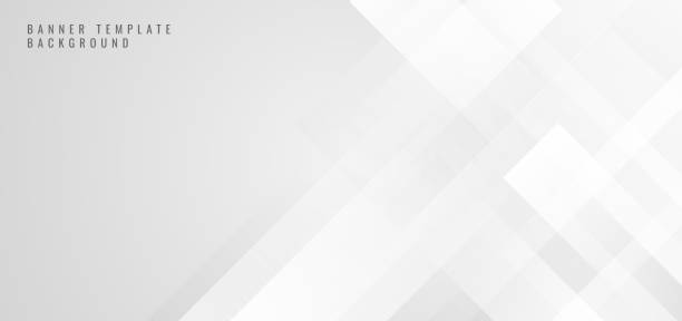 illustrazioni stock, clip art, cartoni animati e icone di tendenza di banner web template forma quadra bianca astratta con sfondo concetto futuristico - sfondi