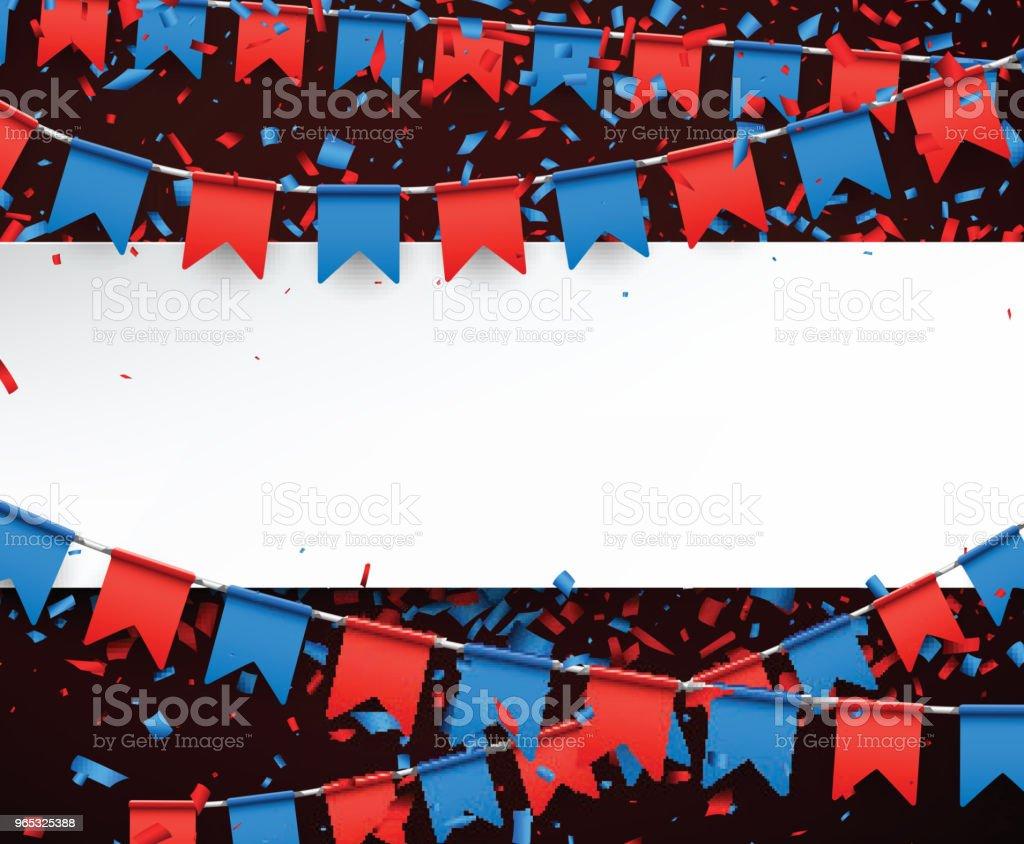 Banner with flags. banner with flags - stockowe grafiki wektorowe i więcej obrazów baner royalty-free