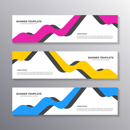 Banner with minimal design, cool geometric business background, Applicable for Banners, Header, Footer, Advertising