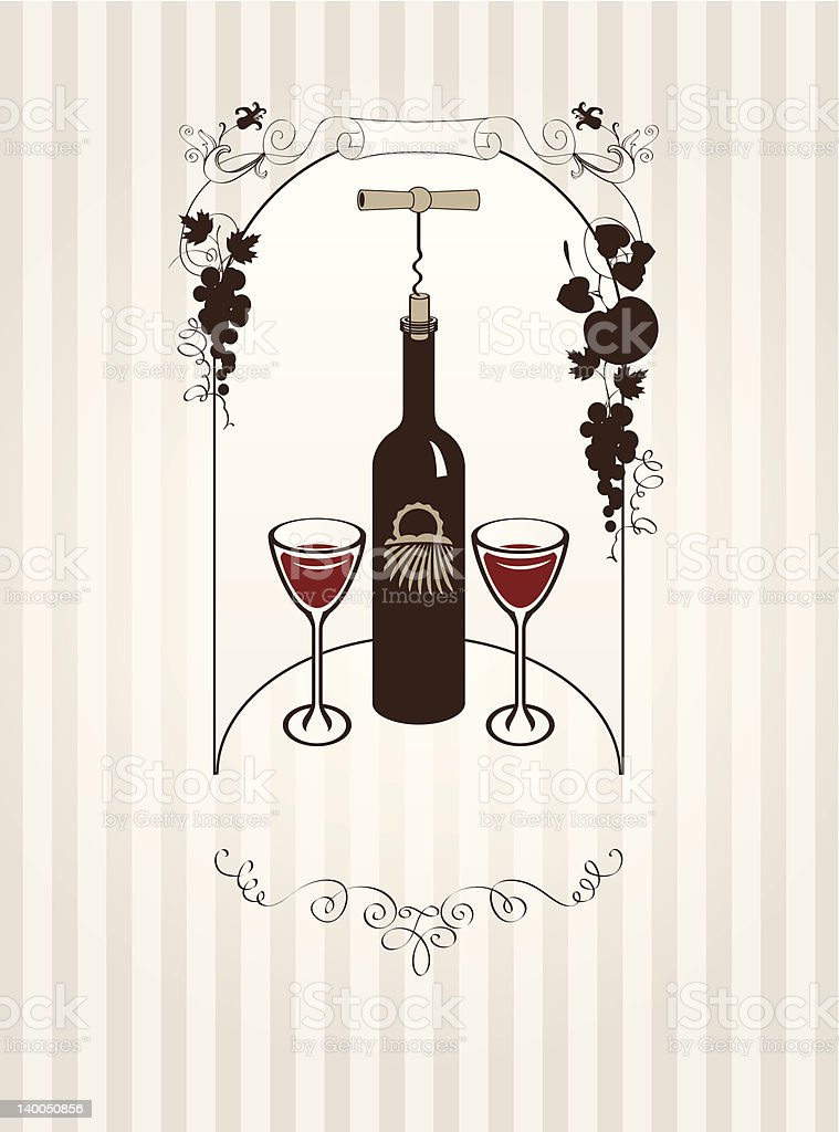 banner with vine royalty-free banner with vine stock vector art & more images of alcohol