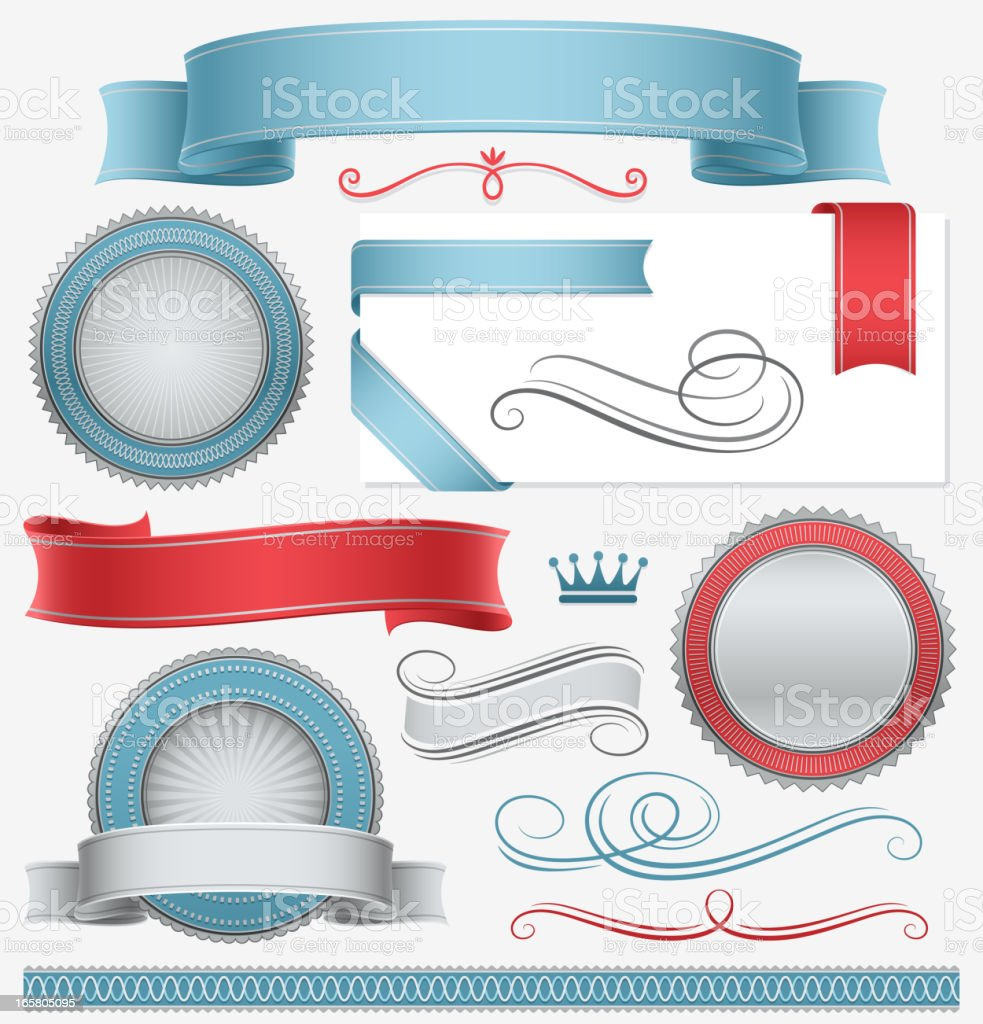 Banners and Seals royalty-free banners and seals stock vector art & more images of award