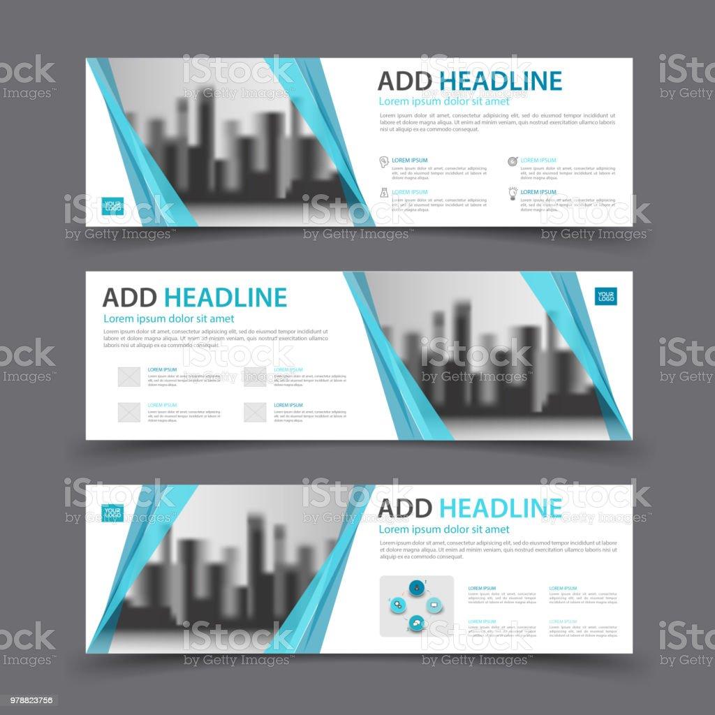 Banners Design Template Business Brochure Flyer Header Web Banner ...