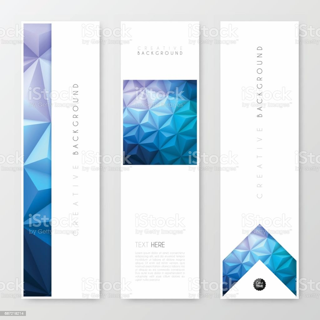 banners design template creative design brochure flyer royalty free banners
