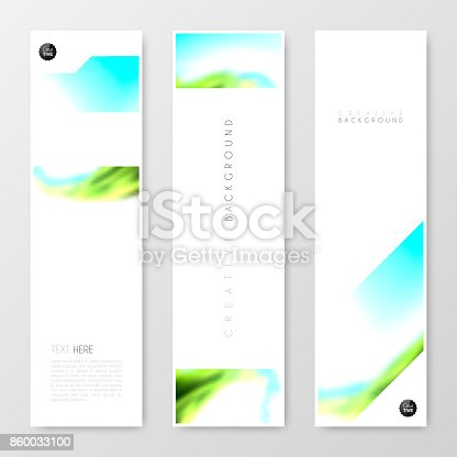 Banners Design Template Creative Design Brochure Flyer stock vector ...