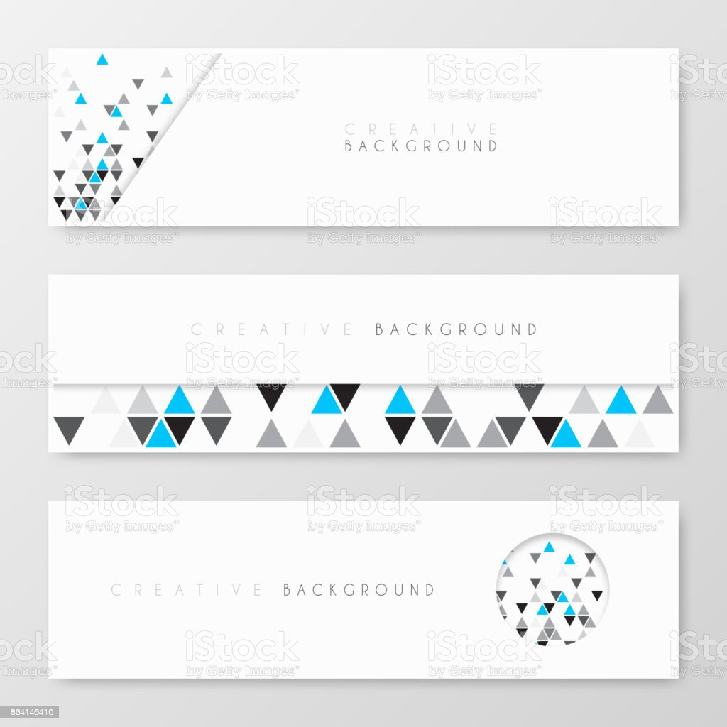 Banners design, template, creative design, Brochure, flyer, royalty-free banners design template creative design brochure flyer stock vector art & more images of abstract