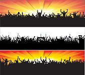 Banners for sports and concerts