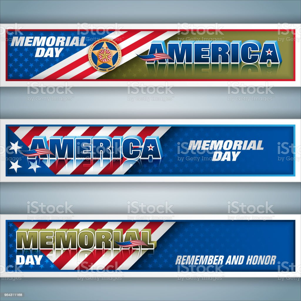 Memmorial Banners Sector Banners