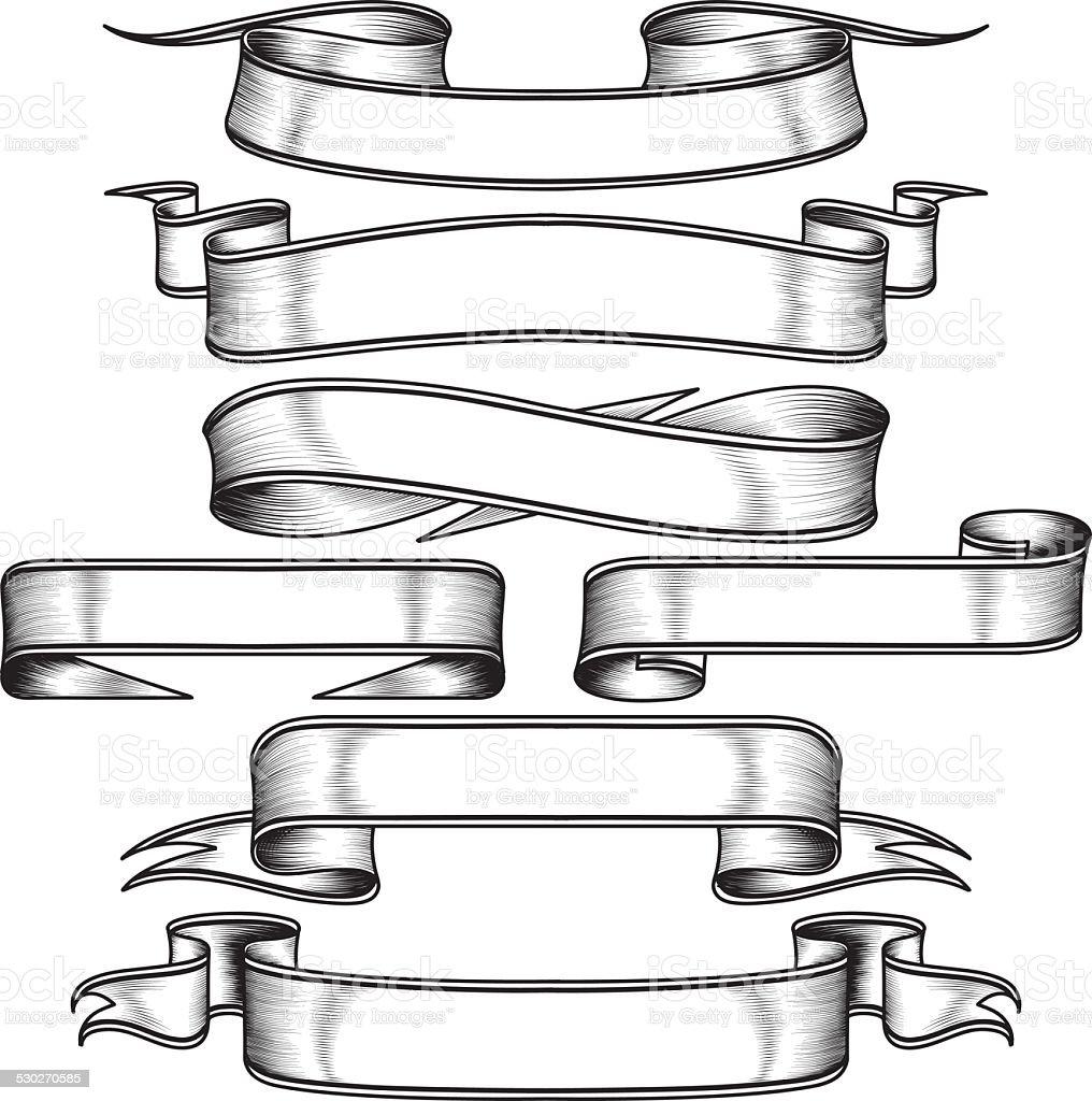 Bannières de Set - Illustration vectorielle