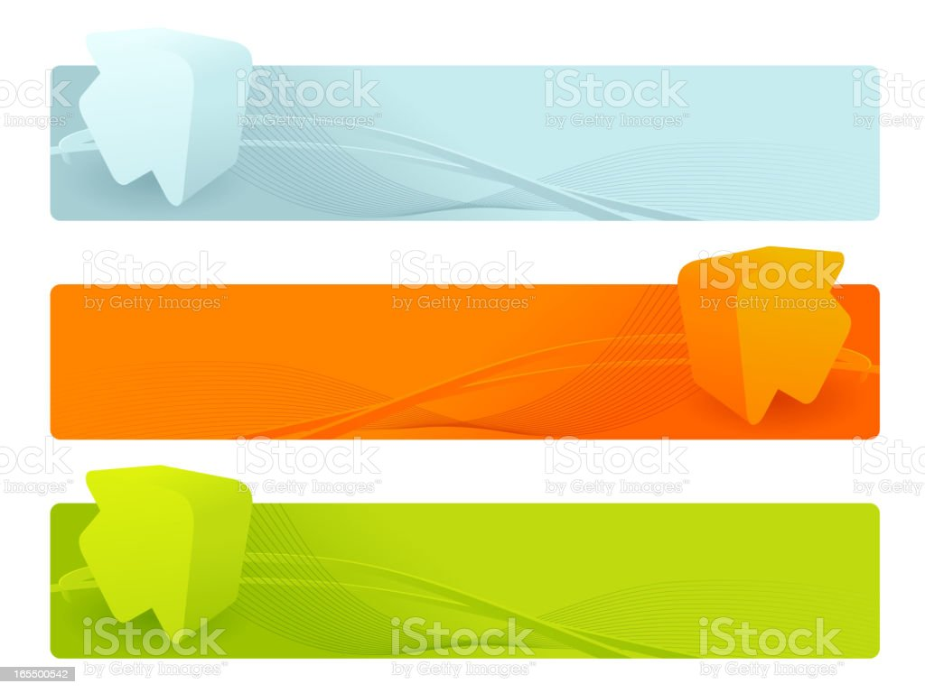 3D banners royalty-free 3d banners stock vector art & more images of abstract