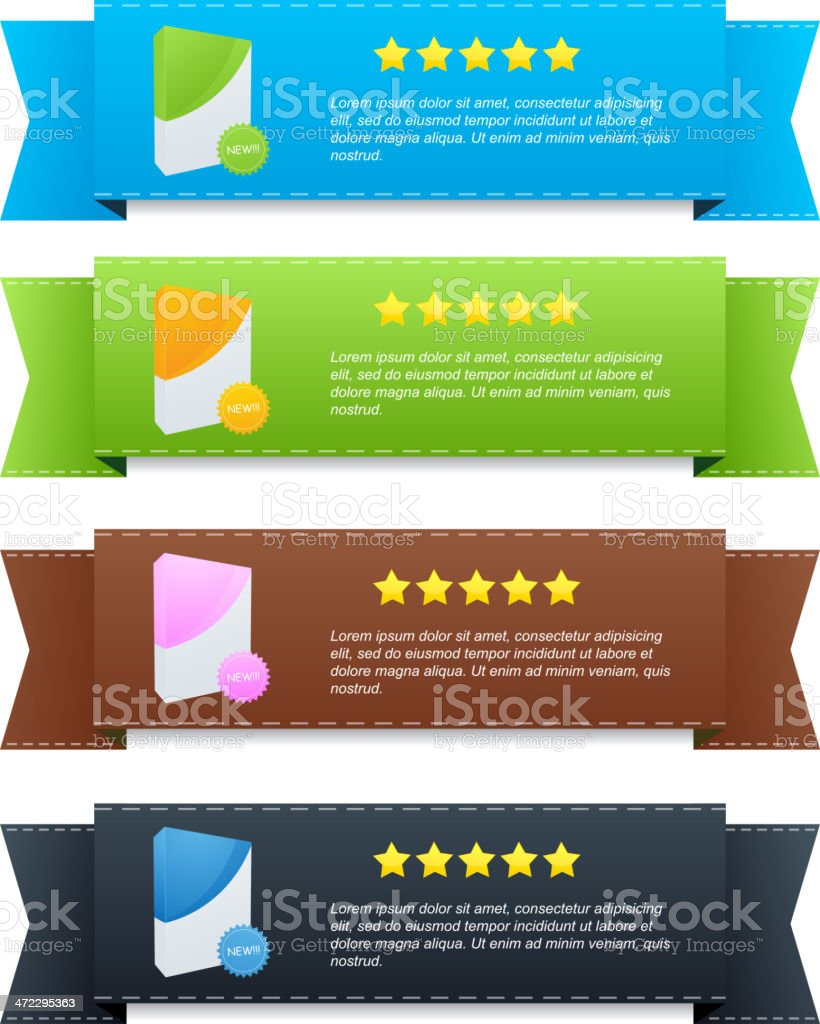 Banners royalty-free banners stock vector art & more images of advertisement