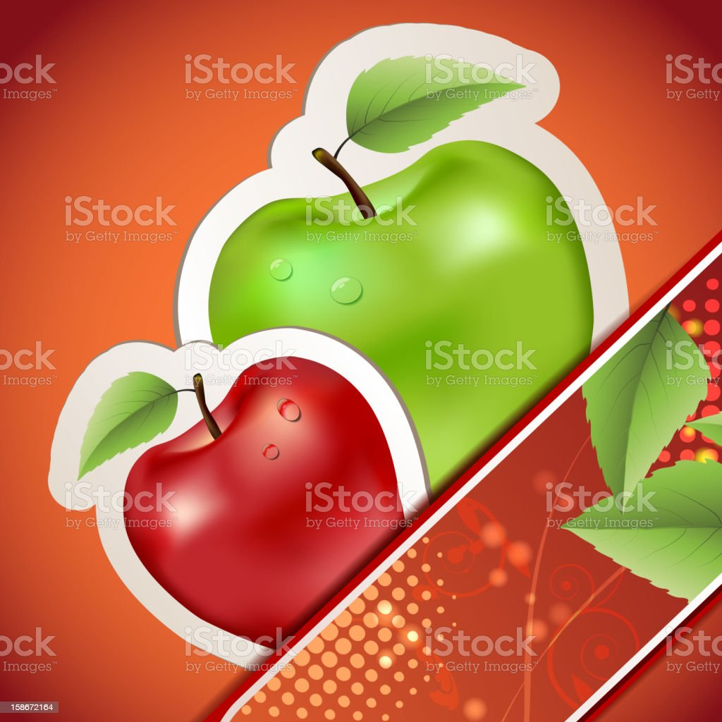 Banners with apples royalty-free banners with apples stock vector art & more images of apple - fruit