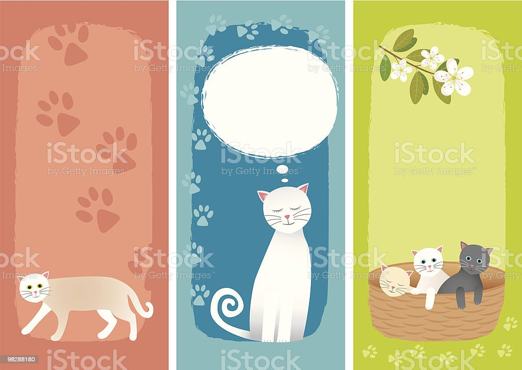 Banners with cats royalty-free banners with cats stock vector art & more images of animal