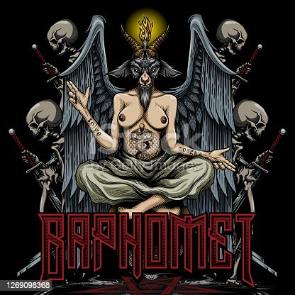 Baphomet poster design.