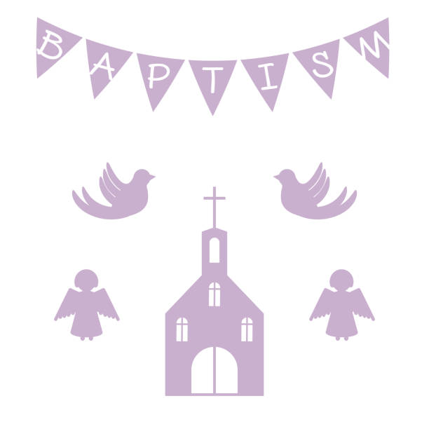 Royalty Free Christening Gown Clip Art Vector Images