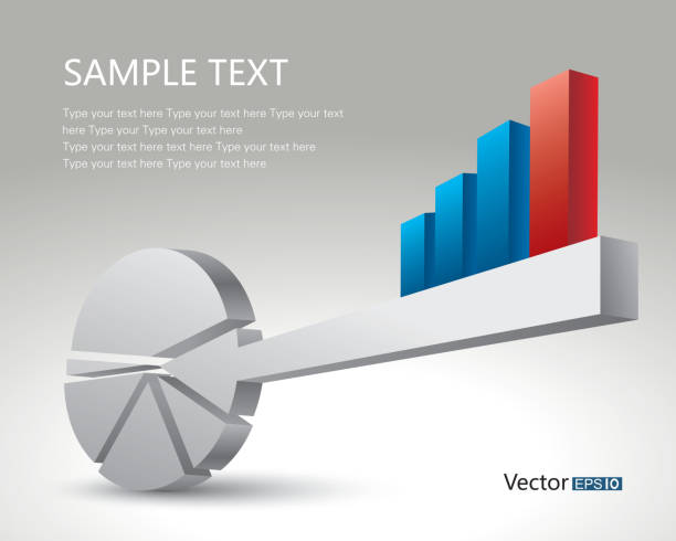 Royalty Free Bar Chart And Pie Chart Key Clip Art Vector Images